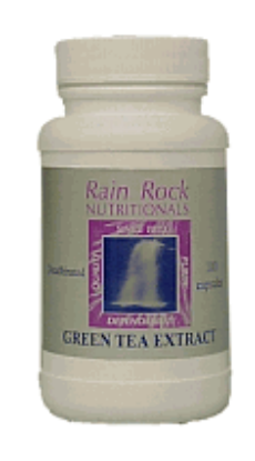 Picture of Green Tea Extract 100 mg with Bioflavonoids 100 Capsules